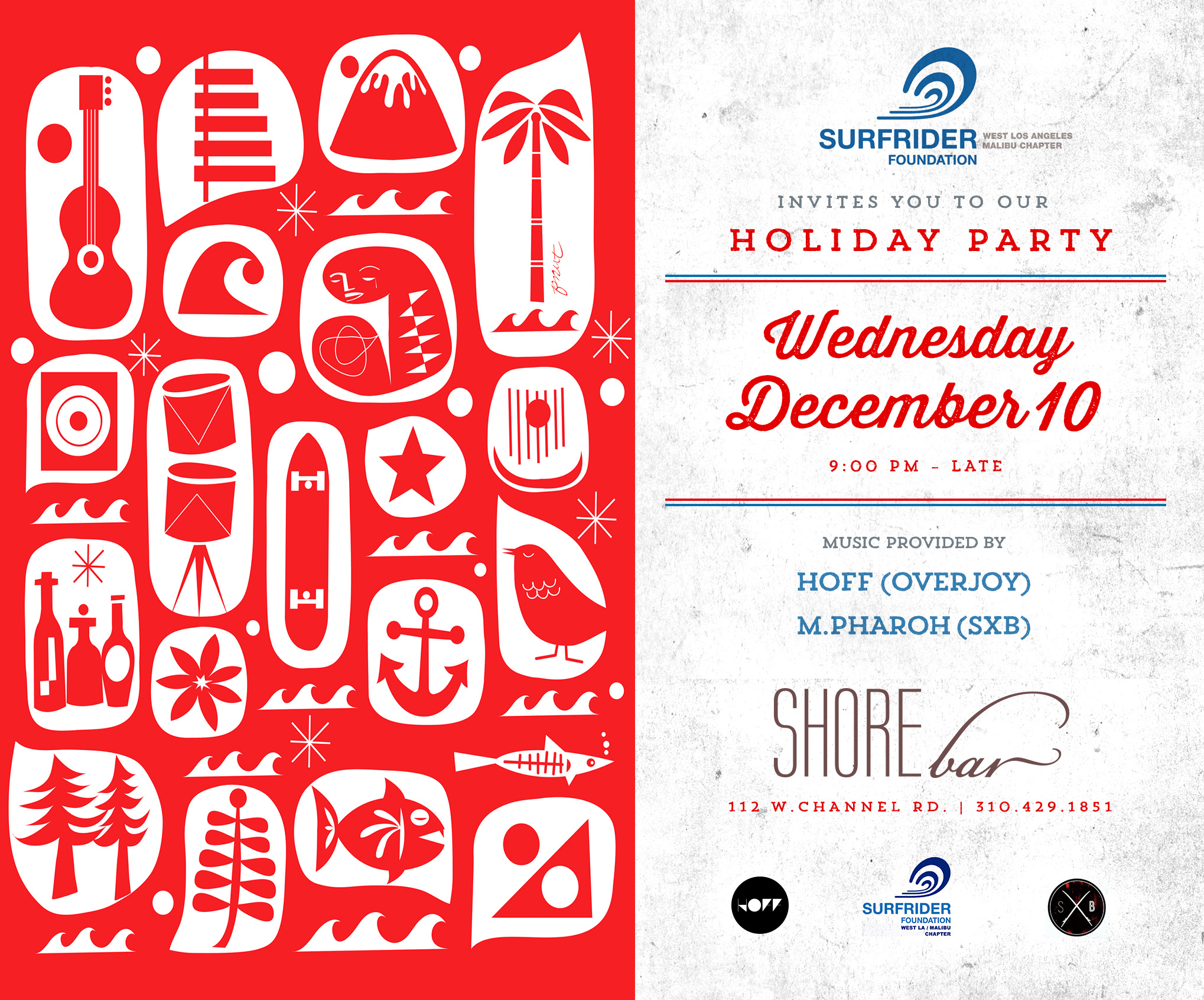 SURFRIDER WLAM HOLIDAY PARTY